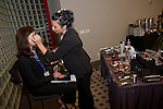 Make-up artist on hand at the Eleventh Annual Texas Conference for Women