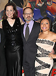 Sigourney Weaver, David Hyde Pierce & Shalita Grant attending the Opening Night After Party for the Lincoln Center Theater production of 'Vanya and Sonia and Masha and Spike' at the Mitzi E. Newhouse Theater in New York City on 11/12/2012