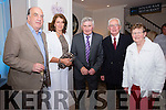 Pictured at the Gala Dinner in The Sea Lodge Waterville on Saturday night were l-r; Terry Dunne, Mary Concannon, Mick O'Dwyer, Michael R.Dwyer & Sheila Dwyer.