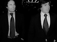 Bob Woodward and Carl Bernstein 1976<br /> John Barrett/PHOTOlink.net /MediaPunch