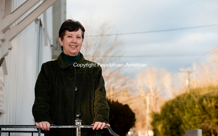 THOMASTON, CT--- -120415JS01--Pastor Patricia Pryor is the new pastor at Eagle Rock Congregational Church in Thomaston. <br /> Jim Shannon Republican-American