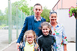Listowel Writers Week: Ryan Tubridy of RTE pictured with Maggie, Lillie & Claire Hilliard at the Listowel Community Centre on Saturday last.