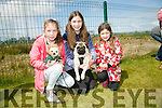 l-r  Charlotte Geary with Sparkles, Holly Geary with Pat and Abigail Geary at the Dog Show and Fun Day fundraiser for Irish Guide Dogs at the John Mitchels sports complex on Saturday