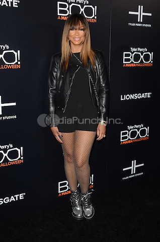 HOLLYWOOD, CA - OCTOBER 17: Tamar Braxton at Tyler Perry's BOO! Premiere at the Arclight Hollywood in Hollywood, California on October 17, 2016. Credit: David Edwards/MediaPunch