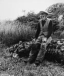 Peasant in Connemara 1940s