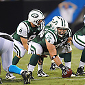 ROBERT TURNER, of the New York Jets in action during the Jets game against the Carolina Panthers  at Bank of America Stadium in Charlotte, N.C.  on August 21, 2010.  The Jets beat the Panthters 9-3 in the second week of preseason games...