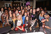 HOLLYWOOD, FL -  DECEMBER 05: Ellie Goulding poses with fans during Hits Live at radio station Hits 97.3 on December 5, 2018 in Hollywood, Florida. Photo by MPI04 / MediaPunch