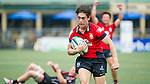 Players in action during the Day 4 of the IRB Junior World Rugby Trophy 2014 at the Hong Kong Football Club on April 19, 2014 in Hong Kong, China. Photo by Chung Yan / Power Sport Images