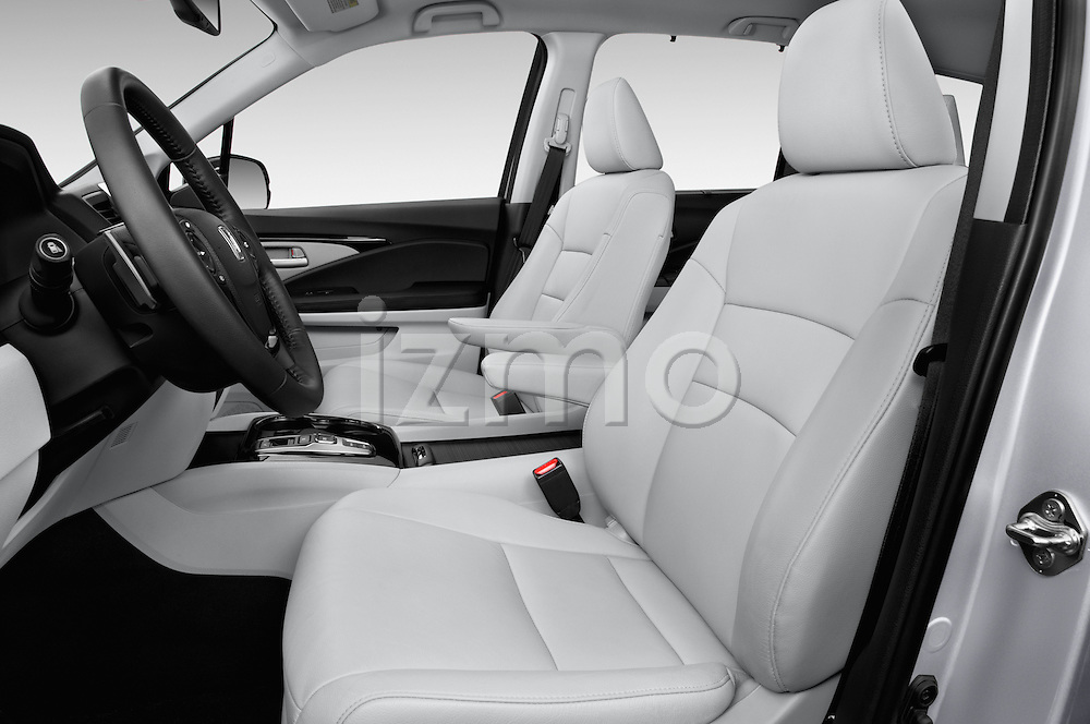 Front seat view of 2016 Honda Pilot Touring 5 Door Suv Front Seat car photos