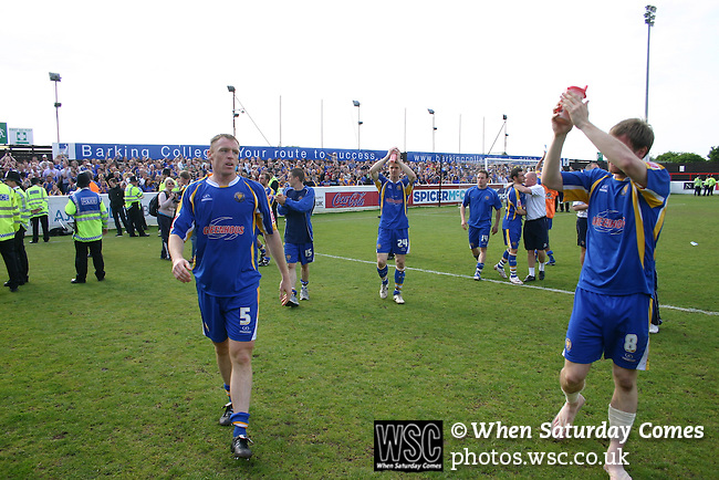 Dagenham & Redbridge 1 Shrewsbury Town 2, 02/05/2009. Victoria Road, League Two. Photo by Tony Davis.