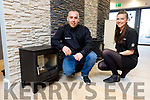 Darren Horan and Kate Brislane at the Stoves for U, Bathrooms 4 U showroom at John Joe Sheehy Road, Tralee.