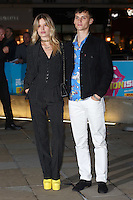 Georgia May Jagger &amp; Josh McLellan at the opening night gala of The Rolling Stones' &quot;Exhibitionism&quot; at the Saatchi Gallery. <br /> April 4, 2016  London, UK<br /> Picture: James Smith / Featureflash