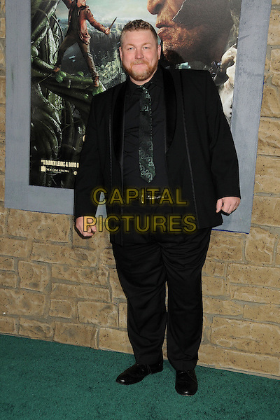 """Dan Studney.""""Jack The Giant Slayer"""" Los Angeles Premiere held at Grauman's Chinese Theatre, Hollywood, California, USA..February 26th, 2013.full length black suit beard facial hair .CAP/ADM/BP.©Byron Purvis/AdMedia/Capital Pictures."""