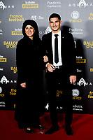 Houssem Aouar <br /> Parigi 3-12-2018 <br /> Arrivi Cerimonia di premiazione Pallone d'Oro 2018 <br /> Foto JB Autissier/Panoramic/Insidefoto <br /> ITALY ONLY