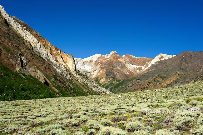 McGee Creek Trailhead in the California Sierra