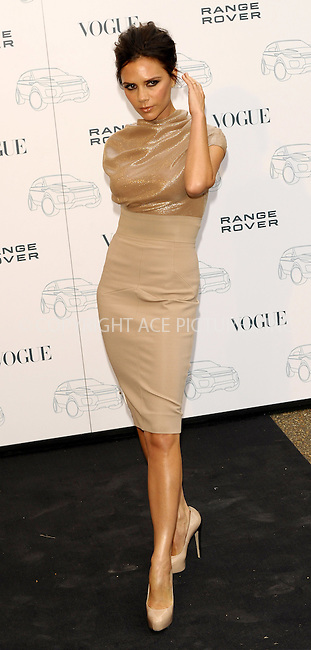 WWW.ACEPIXS.COM . . . . .  ..... . . . . US SALES ONLY . . . . .....Victoria Beckham at Range Rover's 40th anniversary party held at The Orangery on July 1 2010 in Lomdon....Please byline: FAMOUS-ACE PICTURES... . . . .  ....Ace Pictures, Inc:  ..tel: (212) 243 8787 or (646) 769 0430..e-mail: info@acepixs.com..web: http://www.acepixs.com