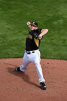 Pittsburgh Pirates pitcher Mark Melancon (35) during a Spring Training game against the New York Yankees on March 5, 2015 at McKechnie Field in Bradenton, Florida.  New York defeated Pittsburgh 2-1.  (Mike Janes/Four Seam Images)