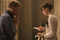 Colette (2018) <br /> Behind the scenes photo of Keira Knightley &amp; Wash Westmoreland.<br /> *Filmstill - Editorial Use Only*<br /> CAP/MFS<br /> Image supplied by Capital Pictures