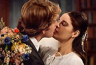 New York City, January 1970. film written by Erich Segal and based on his novel Love Story. It was directed by Arthur Hiller, starred Ryan O'Neal, Ali MacGraw. Here is the scene of the wedding.