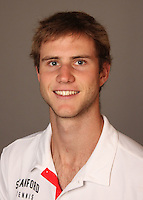 STANFORD, CA - NOVEMBER 16:  Ryan Thacher of the Stanford Cardinal during men's tennis picture day on November 16, 2009 in Stanford, California.
