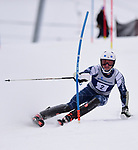 FRANCONIA, NH - MARCH 10: Rob Cone of Middlebury participates in the men's slalom at the Division I Men's and Women's NCAA Skiing Championships held at Jackson Ski Touring on March 10, 2017 in Jackson, New Hampshire. (Photo by Gil Talbot/NCAA Photos via Getty Images)