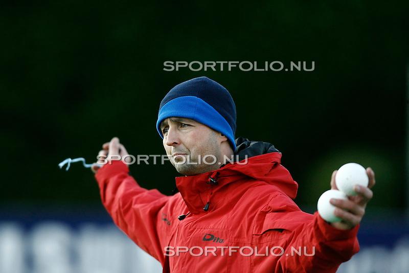 Nederland, Bilthoven, 21 november 2008 .Rob Haantjes, trainer-coach van de  mannen van hockeyclub  SCHC