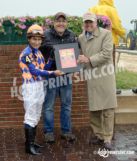 Bluegrass Ball winning on Owners Day at Delaware Park on 9/13/14