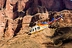 Scenic, Helicopter ride over Grand Canyon, Arizona, AZ, cliffs, landscape, horizontal, arid, erosion, nature, Image nv470-18769.Photo copyright: Lee Foster, www.fostertravel.com, lee@fostertravel.com, 510-549-2202