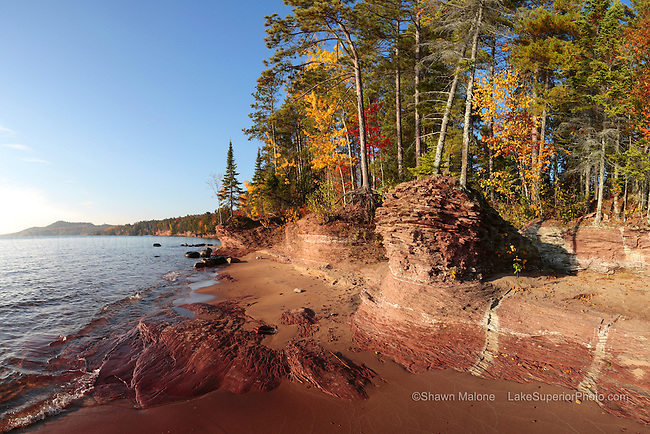 Little Presque Isle autumn Lake Superior