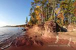 Little Presque Isle autumn Lake Superior