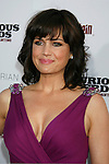 "HOLLYWOOD, CA. - August 10: Carla Gugino arrives at the Los Angeles premiere of ""Inglorious Basterds"" at the Grauman's Chinese Theatre on August 10, 2009 in Hollywood, California."