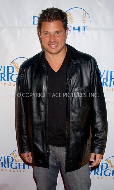 WWW.ACEPIXS.COM . . . . . ....December 2nd, 2006, New York City. ....Nick Lachey attends the 2nd Annual 'Do The Wright Thing' Gala - A Benefit for the David Wright Foundation. ....Please byline: KRISTIN CALLAHAN - ACEPIXS.COM.. . . . . . ..Ace Pictures, Inc:  ..(212) 243-8787 or (646) 769 0430..e-mail: info@acepixs.com..web: http://www.acepixs.com
