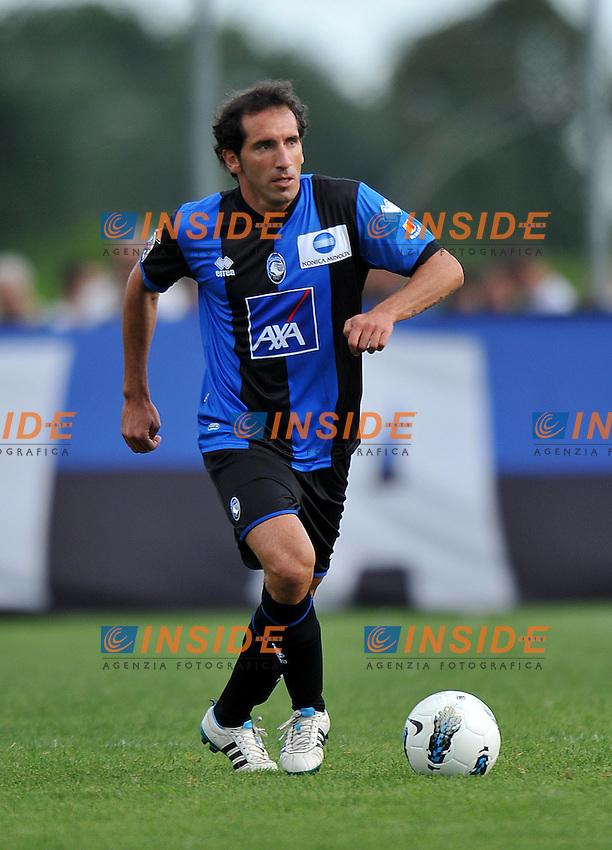 Fabio CASERTA (Atalanta) .Atalanta Vs Alta Val Seriana.Football Calcio gara amichevole 2011/2012 .Rovetta 24/7/2011 C.S Rovetta.Foto Alessandro Sabattini Insidefoto