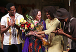 Blair Underwood, Director Emily Mann, Nicole Ari Parker, Wood Harris.during the Broadway Opening Night Curtain Call for 'A Streetcar Named Desire' on 4/22/2012 at the Broadhurst Theatre in New York City.