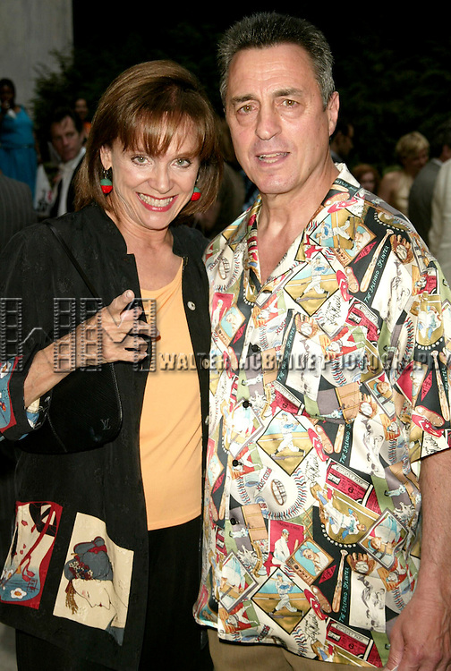 Valerie Harper and husband Tony attends the Opening Night Performance of 'The Paris Letter' at the American Airlines Theatre in New York City on 6/9/2005