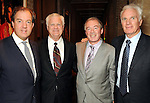 From left: Mark Cornell, Jerry Cargill, Jim Clerkin and Bennett Glazer at a party for Giles Hennessey at the home of Becca Cason Thrash Tuesday March 9,2010. (Dave Rossman Photo)