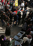 Mourners carry the body of Palestinian Abdullah Tawalba, 19, during his funeral in the West Bank village of Jalama, south of Jenin, on February 5, 2019. Tawalba was shot dead and another wounded the previous day in a clash at a military checkpoint in the northern West Bank, Palestinian officials said, without giving further details. Photo by Shadi Jarar'ah