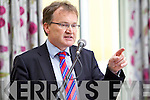 Jim Power speaking at the Business briefing on the Stability Treaty in the Dromhall Hotel, Killarney, on Friday