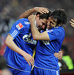 Fussball Bundesliga 2010/11: FC St Pauli - FC Schalke 04