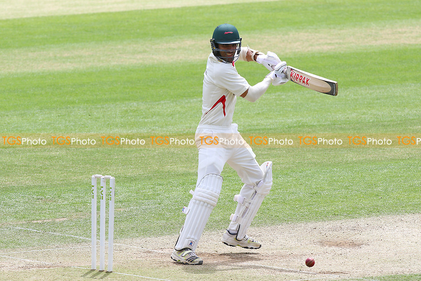 Andrea Agathangelou in batting action for Leicestershire - Essex CCC vs Leicestershire CCC - LV County Championship Division Two Cricket at the Essex County Ground, Chelmsford, Essex - 03/06/15 - MANDATORY CREDIT: Gavin Ellis/TGSPHOTO - Self billing applies where appropriate - contact@tgsphoto.co.uk - NO UNPAID USE