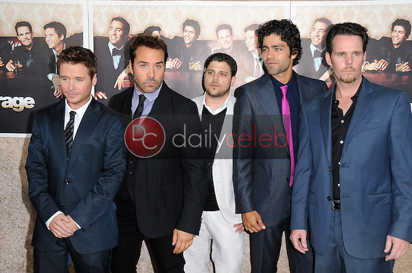 Cast of 'Entourage'<br />at the Los Angeles Premiere of 'Entourage' Season Six. Paramount Theater, Hollywood, CA. 07-09-09<br />Dave Edwards/DailyCeleb.com 818-249-4998