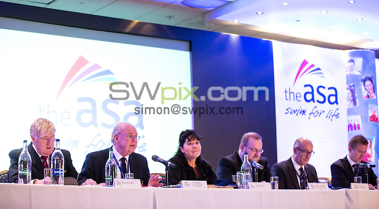 Picture by Alex Whitehead/SWpix.com - 18/10/2014 - Swimming - The ASA Annual Council Meeting and Dinner - Hilton Metropole Hotel, Birmingham, England -
