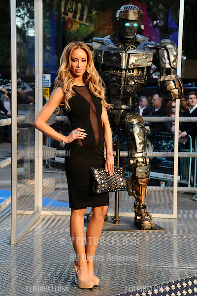 "Lauren Pope arrives for the ""Real Steel"" premiere at the Empire Leicester Square, London. 14/09/2011  Picture by: Steve Vas / Featureflash"