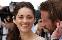 .../ Actors Matthias Schoenaerts and Marion Cotillard pose at the 'De Rouille et D'os' Photocall during the 65th Annual Cannes Film Festival at Palais des Festivals on May 17, 2012 in Cannes, France.  .. Credit: Palme2012/ News Pictures/MediaPunch Inc. ***FOR USA ONLY***