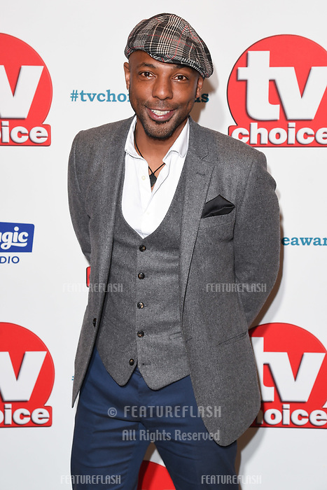 LONDON, UK. September 10, 2018: Don Gilet at the TV Choice Awards 2018 at the Dorchester Hotel, London.<br /> Picture: Steve Vas/Featureflash