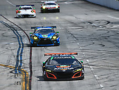 2017 IMSA WeatherTech SportsCar Championship<br /> BUBBA burger Sports Car Grand Prix at Long Beach<br /> Streets of Long Beach, CA USA<br /> Saturday 8 April 2017<br /> 86, Acura, Acura NSX, GTD, Oswaldo Negri Jr., Jeff Segal<br /> World Copyright: Richard Dole/LAT Images<br /> ref: Digital Image RD_LB17_355