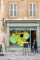 La Route Des Vins wine shop in rue Musette in Dijon in the Burgundy region of France