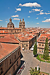 University of Salamanca building seen from the roof of the Catedral Nueva