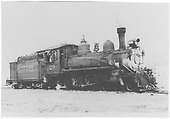 RGS 4-6-0 #20 (3/4 view) possibly at Ridgway.<br /> RGS  Ridgway ?, CO