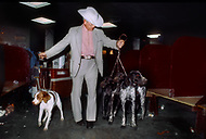 NYC MADISON SQUARE GARDEN 1977 WESTMINSTER KENNEL DOG SHOW